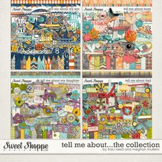 Tell Me About - The Collection by Meghan Mullens and Traci Reed. $28.00
