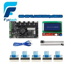 85.00$  Watch now - http://aliw4a.worldwells.pw/go.php?t=32757093184 - 3D Printer Control Panel Board Gen V1.4 Integrated Ramps 1.4 and Mega 2560 Mainboard with 5PCS A4988 Stepper Motor Drivers 85.00$