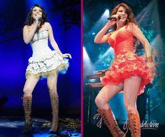 Modelos da cantora Paula Fernandes.