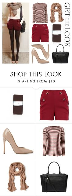 """""""Get THE Look"""" by curlyelizabeth ❤ liked on Polyvore featuring Worthington, Boohoo, Steve Madden, Aiayu, Banana Republic and Witchery"""