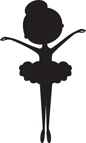 3 adorable ballerina silhouette poses to choose from. Perfect gift for your little ballerina! Great gift idea for dance instructors and teachers. Ballerina Silhouette, Ballerina Birthday, Little Ballerina, Ballerina Nursery, Diy Art, Diy And Crafts, Wall Art, Creative, Prints