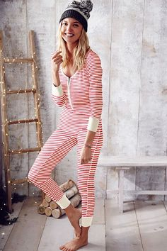 Shop sleepwear for women and choose from styles in silk, flannel, cotton and more! Get the perfect pajamas to fit any mood, from soft and cozy to sexy silk now at Victoria's Secret. Cozy Pajamas, Onesie Pajamas, Thermal Pajamas, Satin Pyjama Set, Pajama Set, Pajamas For Teens, Holiday Lingerie, Foto Fun, Holiday Pajamas