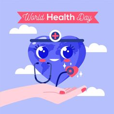 Drawing of world health day theme Free V. World Health Day Theme, Themes Free, Hand Drawn, Vector Free, Drawings, Projects, Prints, Design, Log Projects