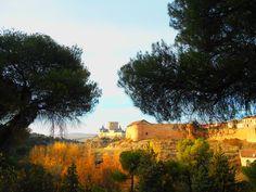 La Casa del Sol y el Alcazar desde la Necrópolis Judia