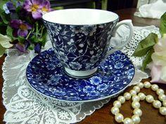 Royal Patrician Tea Cup Bone China Chintz Teacup Tea Cup and Saucer 9315. $22.00, via Etsy.