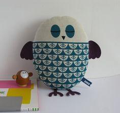 screen printed owl