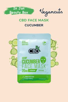 Have you been noticing a dullness in your face? Elevate your skin routine with this CBD cucumber OR charcoal mask. Designed to make your skin feel like it just experienced a mini spa (in 10 minutes), these masks contain 20mg CBD that comes from organically grown hemp. Pure and powerful ingredients work together to purify, soothe, and tone your skin just right. If you've been thinking about healthy skin lately, it is time you give this amazing natural mask a quick try.
