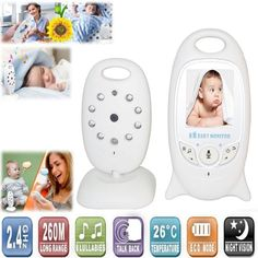 $122.89 (Buy here: http://appdeal.ru/cv5i ) New 2.0 Inch 2.4G Audio and Video CCTV Night Video Clear Camera Baby Monitor System IR Night Camera Two way talk Multi-language for just $122.89