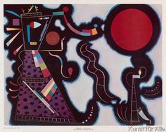 Wassily Kandinsky - Le cercle rouge