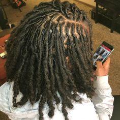 Dreadlock Styles, Dreads Styles, Curly Hair Styles, Natural Hair Styles, Short Locs Hairstyles, Baddie Hairstyles, Dyed Natural Hair, Dyed Hair, Natural Hair Weaves