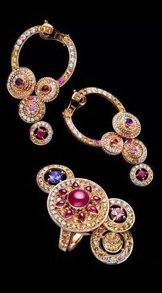 Boucheron Earrings N Ring