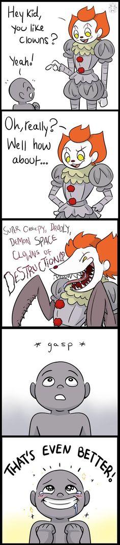Just another clown fan by Twime777.deviantart.com on @DeviantArt