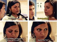 The Mindy Project. I truly believe Mindy and I could be best friends