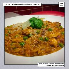 chicken orzo moonblush tomatoes risotto