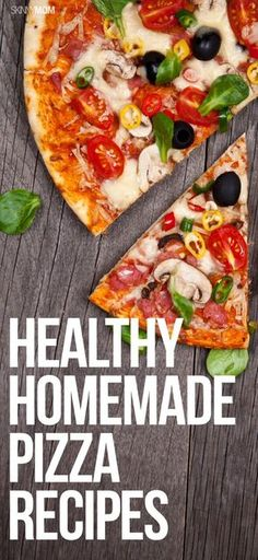 Make the whole family happy with one of these healthy homemade pizzas for dinner!