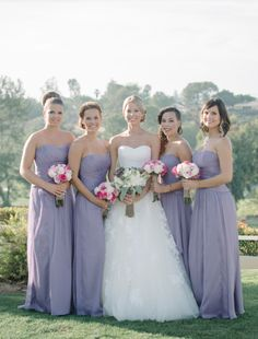 Pretty Los Angeles Country Club Wedding from Krista Mason Photography. To see more: http://www.modwedding.com/2014/09/01/pretty-los-angeles-country-club-wedding-krista-mason-photography/ #wedding #weddings #bridesmaid_dress