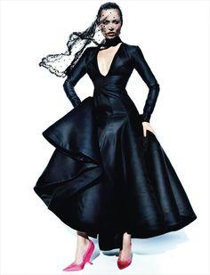 Kate Moss Vogue Spain December 2012
