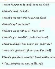 English Writing Skills, English Lessons, English Vocabulary, English Grammar, Language Quotes, Language Lessons, Turkish Lessons, English Collocations, Learn Turkish Language