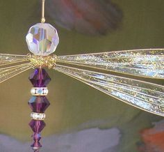 Found on Etsy....Love!  http://www.etsy.com/listing/29365700/dragonfly-suncatcher-birthstones-28-more