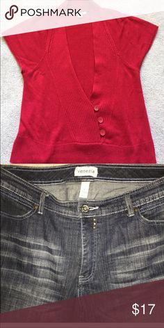 Bundle for @Cynthiajean Coldwater Creek Vest & LB Jeans Other