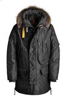 free shipping Men Parajumpers down jacket 903 Kodiak Long Parka black S-XXL on TradeTang.com