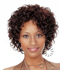 Short Curly Women's Hairstyles