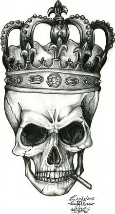 The King Skull by renatavianna
