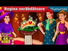 REGINA NERĂBDĂTOARE | The Impatient Queen Story | Romanian Fairy Tales - YouTube Monster Cards, Fairy Tales, Queen, Youtube, Fictional Characters, Cartoons, Bedtime Stories, Fairytail, Animated Cartoons