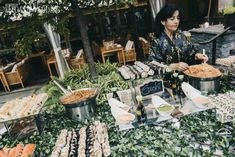 The stunning Ritz-Carlton Montreal provided the ideal backdrop for Carolyn and Jon's romantic blush wedding. Wedding Food Catering, Wedding Food Stations, Wedding Reception Food, Wedding Ideas, Fruits For Kids, Kids Fruit, Blush Wedding Theme, Dream Wedding, Catering Display