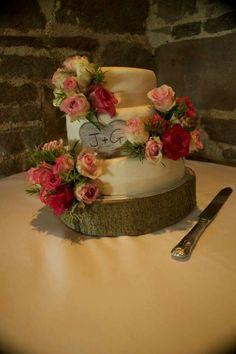 Team effort wedding cake