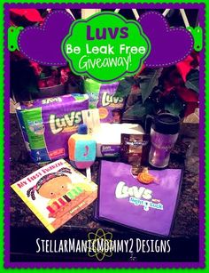 StellarManicMommy2: Be Leak Free with Luvs Giveaway! #LuvsLeakFreeHoli...