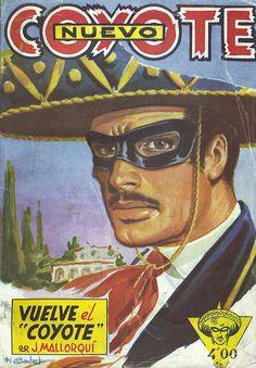 """Vuelve el """"Coyote"""". Ed. Cliper, 1951? (Col. Nuevo Coyote ; 1)"""