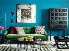 How to use Colour at Home without it Looking Crazy