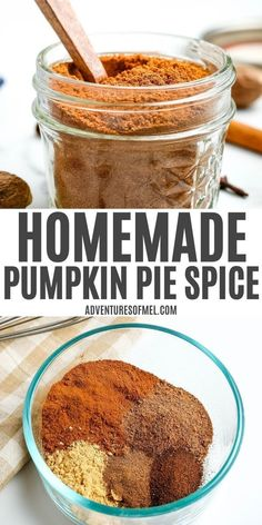 How to make your own homemade pumpkin pie spice for all your favorite recipes and desserts, including cookies, cakes, breads, pies, and more. Easy DIY mix! #pumpkinpiespice #homemadespices #pumpkinspice #seasoning #fallrecipes #thanksgiving #DIYspices Homemade Pumpkin Pie, Homemade Spices, Homemade Seasonings, Pumpkin Pie Spice, Fall Recipes, Sweet Recipes, My Favorite Food, Favorite Recipes, Seafood Diet