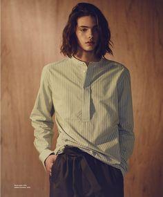 Styles of the Understated: Erin Mommsen Stars in Essential Homme Magazine