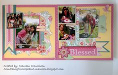 Let's Give 'em Something to Scrap About!: CTMH Spring/Summer Blog Hop #Chantilly