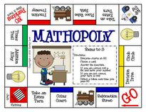 First Grade a la Carte: GAMEOPOLY's