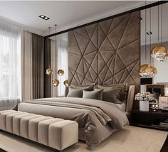 Awesome Luxury Modern Master Bedroom Design will Inspire You - home decor update Modern Luxury Bedroom, Master Bedroom Interior, Luxury Bedroom Design, Modern Master Bedroom, Master Bedroom Design, Luxury Interior Design, Luxurious Bedrooms, Home Decor Bedroom, Bedroom Lamps