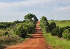 Red Dirt Road - Oklahoma.  Looks like the road leading out to my Grandpa's farm.
