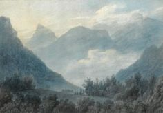 View of the Grand Chartreuse by John Robert Cozens on artnet