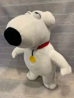 Adult Comedy TV Show Family Guy Brian Griffin Pet Dog Costume Plush Headpiece