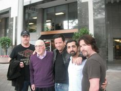 Michael Cudlitz, Ross McCall, James Madio and Frank John Hughes with Ed Tipper