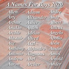Pretty Names, Cute Names, Kid Names, First Names, Unique Names, Book Writing Tips, Writing Words, Writing Prompts, Baby Names And Meanings