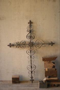 decorative metal wall crosses  ornate metal cross wall art