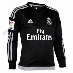 Camiseta Real Madrid Portero 1ª 2015/2016 Manga Larga http://www.camisetafutbolreplica.com/camiseta-real-madrid-portero-1ordf-20152016-manga-larga-p-1786.html