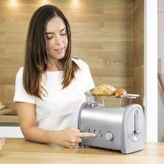 Cecotec Steel 2S 3035 Toaster 800W Toasters, Steel, Toaster, Steel Grades, Iron