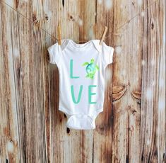 Excited to share the latest addition to my shop: Sea Turtle Love Onesie, Sea Turtle Baby Bodysuit, Sea Turtle Baby Sea Turtle Nursery, Baby Sea Turtles, Turtle Baby, Ocean Nursery, Baby Boy Shower, Baby Shower Gifts, Custom Baby Onesies, Turtle Love, Baby Love