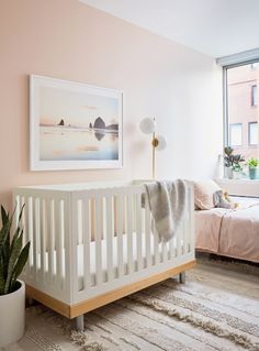 Pink and Green Nursery Decor . Pink and Green Nursery Decor . Millennial Pink Nursery tour Plants for Children S Rooms Light Green Nursery, Pink And Green Nursery, Nursery Paint Colors, Pink Paint Colors, Nursery Design, Bedroom Colors, Purple Baby, Neutral Colors, Pale Pink