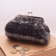 Woven  Black Clutch Purse £18.00