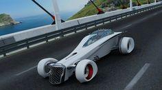 Vision de un auto futurista